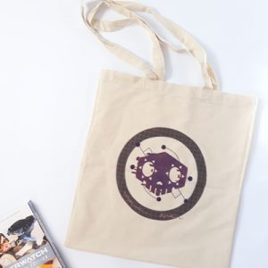 Sombra print bag